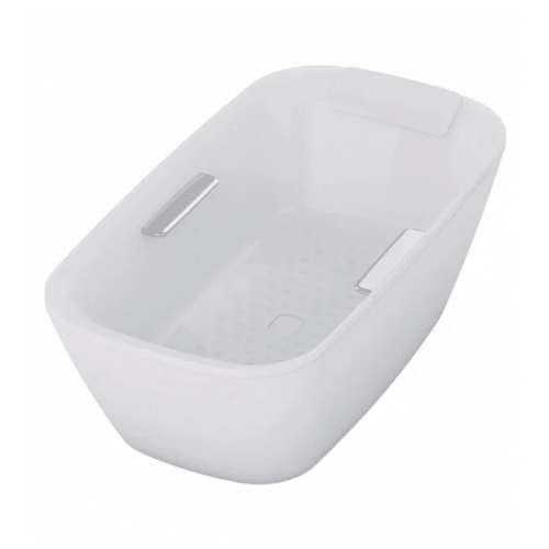 Toto Neorest 71-in. Marble Rectangular Free Standing Bathtub with Center Drain ABF992X#01DCP