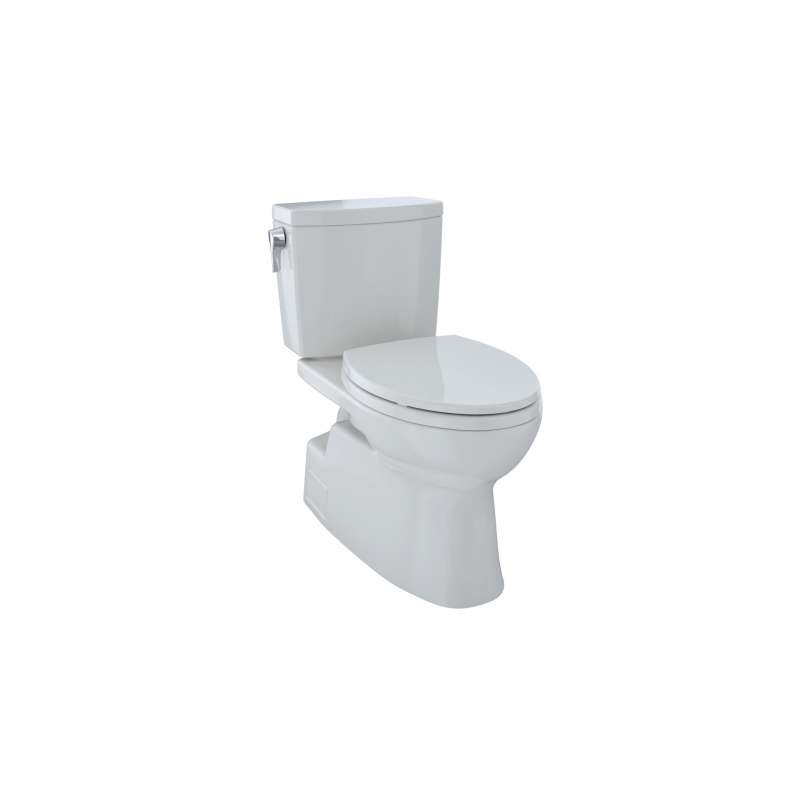 Toto Vespin II Elongated Tornado 1-GPF 2 Piece Toilet, Less Seat