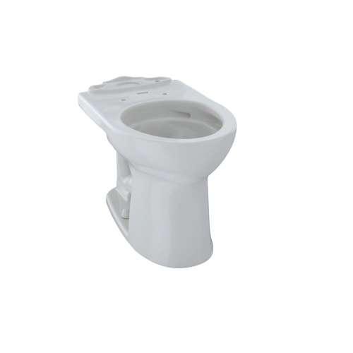 Toto Drake II Round Tornado 1-GPF Toilet Bowl, Less Seat
