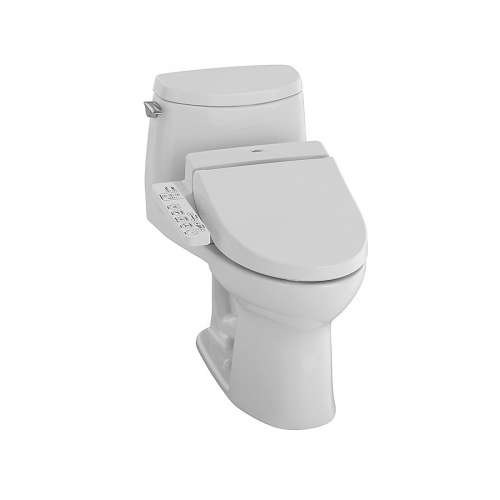 Toto Ultramax II Elongated Tornado 1-GPF 1-Piece Toilet, Less Seat