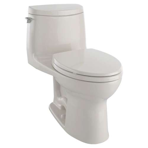 Toto UltraMax II Elongated Tornado 1-GPF 1-Piece Toilet, With Seat