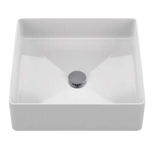 Toto Arvina 17-in. Vitreous China Square Vessel Bathroom Sink