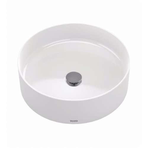 Toto Arvina 16-in. Vitreous China Circular Vessel Bathroom Sink