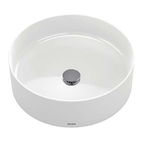 Toto Arvina 17-in. Vitreous China Circular Vessel Bathroom Sink