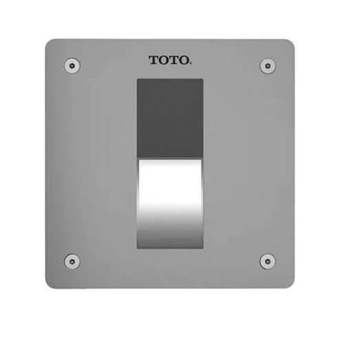 Toto EcoPower Stainless Steel Electronic 0.125-GPF Flush Valve with EcoPower Technology
