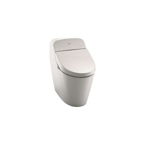 Toto Washlet G400 Elongated Tornado 0.9, 1.28-GPF 1-Piece Toilet, With Seat