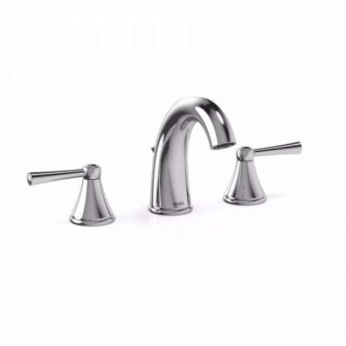 Toto Silas Deck-Mounted Arc 1.2-GPM Widespread Bathroom Sink Faucet