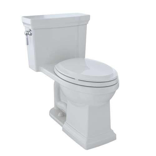 Toto Promenade II Elongated Tornado 1.28-GPF 1-Piece Toilet, With Seat