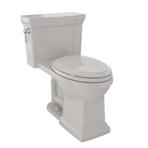 Toto Promenade II Elongated Tornado 1-GPF 1-Piece Toilet, With Seat