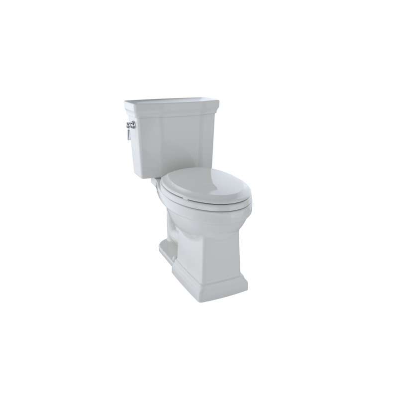 Toto Promenade II Elongated Tornado 1-GPF 2 Piece Toilet, Less Seat