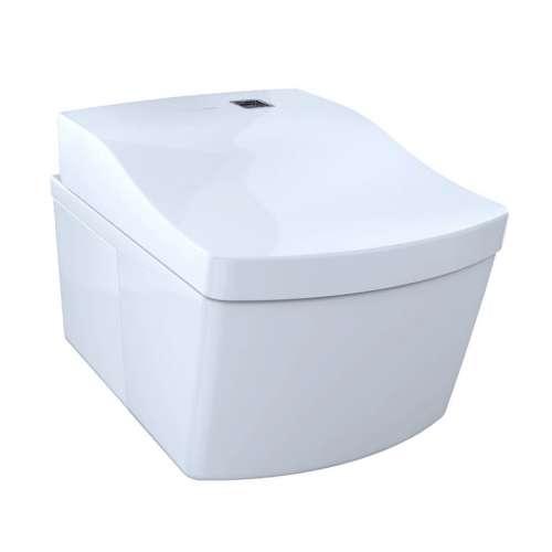 Toto Neorest Round Dual Flush, Automatic Flush 1-GPF Toilet Bowl, Less Seat