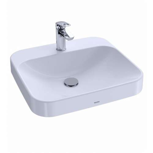 Toto Arvina 20-in. Vitreous China Rectangular Vessel Bathroom Sink