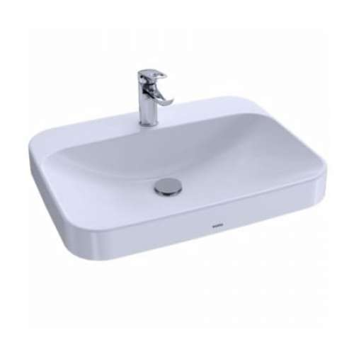 Toto Arvina 24-in. Vitreous China Rectangular Vessel Bathroom Sink