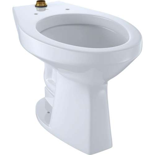 Toto Elongated Siphon Jet 1-GPF Toilet Bowl, Less Seat