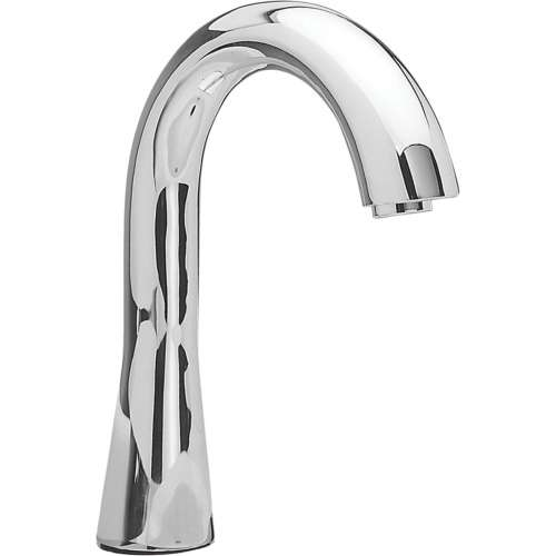 Toto Gooseneck Deck-Mounted Fixed 0.35-GPM Single Hole Bathroom Sink Faucet