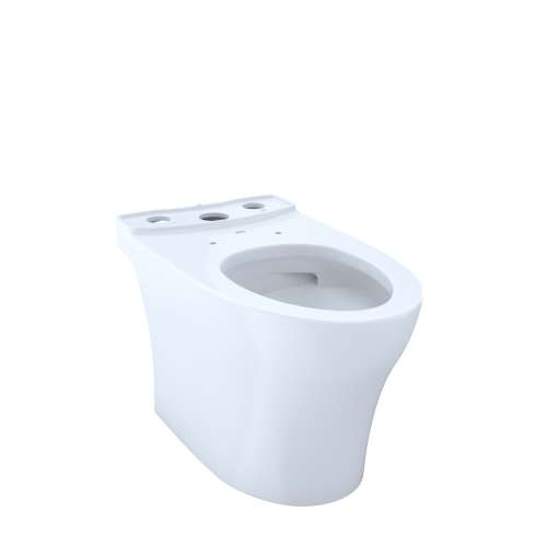 Toto Aquia IV Elongated Tornado 1-GPF Toilet Bowl, Less Seat