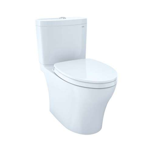 Toto Aquia IV Elongated Tornado 1.0, 0.8-GPF Toilet Bowl, With Seat