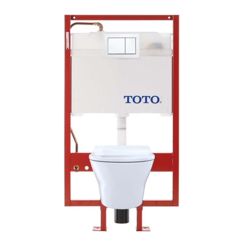 Toto MH Elongated Tornado 0.9, 1.28-GPF 1-Piece Toilet, Less Seat