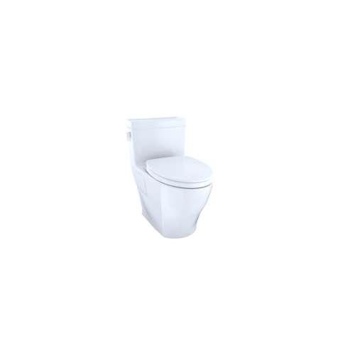Toto Legato Elongated Tornado 1.28-GPF 1-Piece Toilet, With Seat