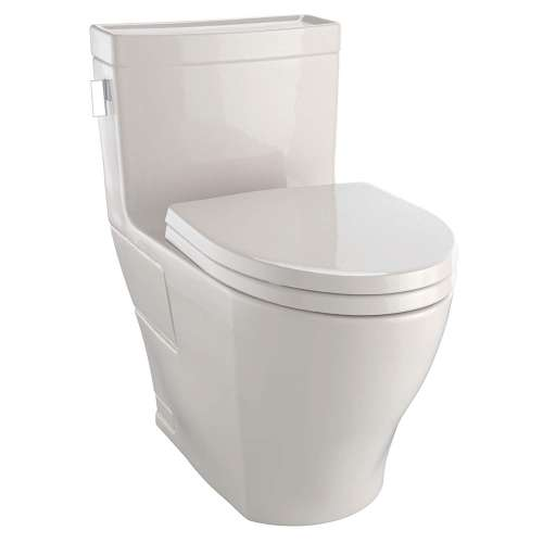 Toto Legato Elongated Tornado 1.28-GPF 1-Piece Toilet, With Seat