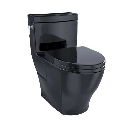 Toto Aimes Elongated Tornado 1.28-GPF 1-Piece Toilet, With Seat