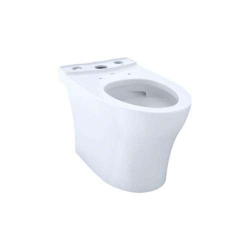 Toto Aquia IV Elongated Tornado 1.28, 0.8-GPF Toilet Bowl, Less Seat