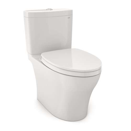 Toto Aquia IV Elongated Tornado 1.0, 0.8-GPF Toilet Bowl, With Seat