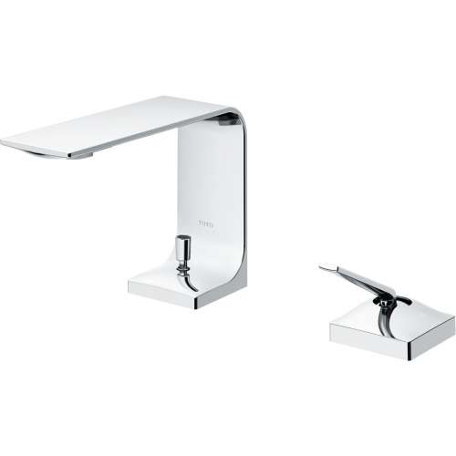 Toto ZL Deck-Mounted Fixed 1.2-GPM Single Handle Bathroom Sink Faucet