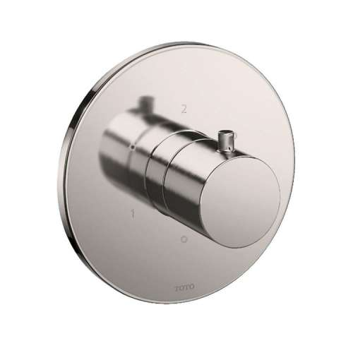 Toto Mini Unit Round Three-Way Diverter Shower Trim with Off - In Multiple Colors