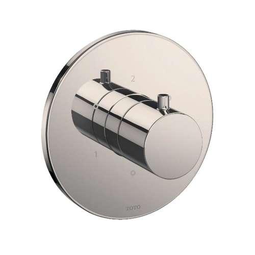 Toto Mini Unit Round Three-Way Diverter Shower Trim with Off