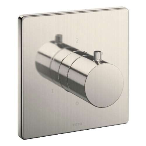 Toto Mini Unit Square Three-way Diverter Trim with Off - In Multiple Colors