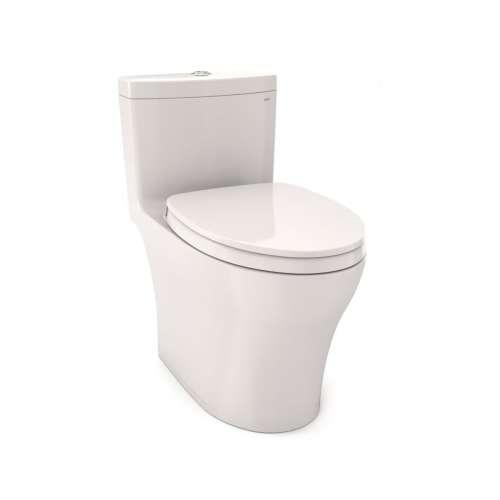Toto Aquia IV Elongated Tornado 0.8, 1-GPF 1-Piece Toilet, Less Seat