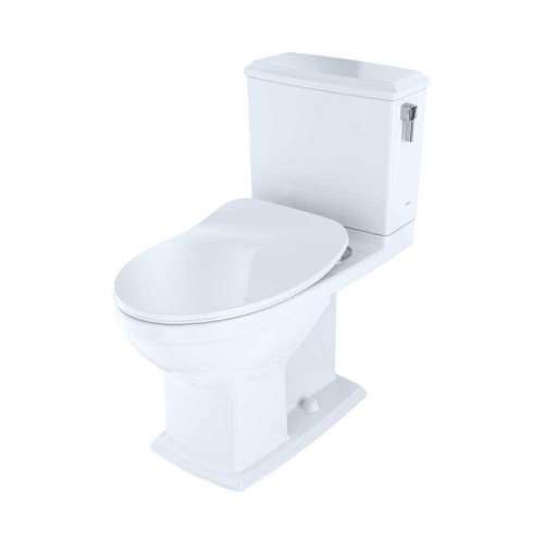 Toto Connelly Elongated Tornado 1.28, 0.9-GPF Toilet Bowl, With Seat