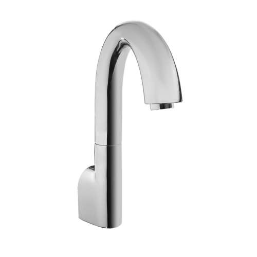 Toto Gooseneck Wall-Mounted Fixed 0.35-GPM Bathroom Sink Faucet