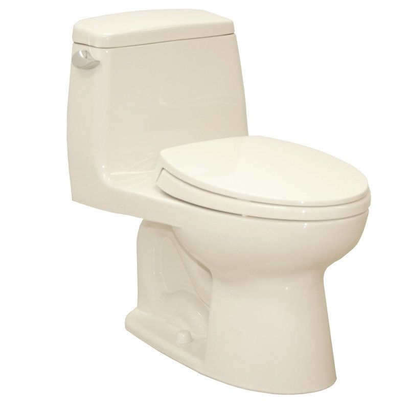 Toto UltraMax 1.6 GPF 1-Piece Elongated Toilet With Seat