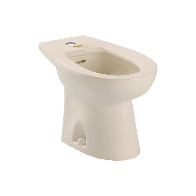 Toto Piedmont Vitreous China Floor Mounted Porcelain Bidet Fixture For Single Hole Faucets