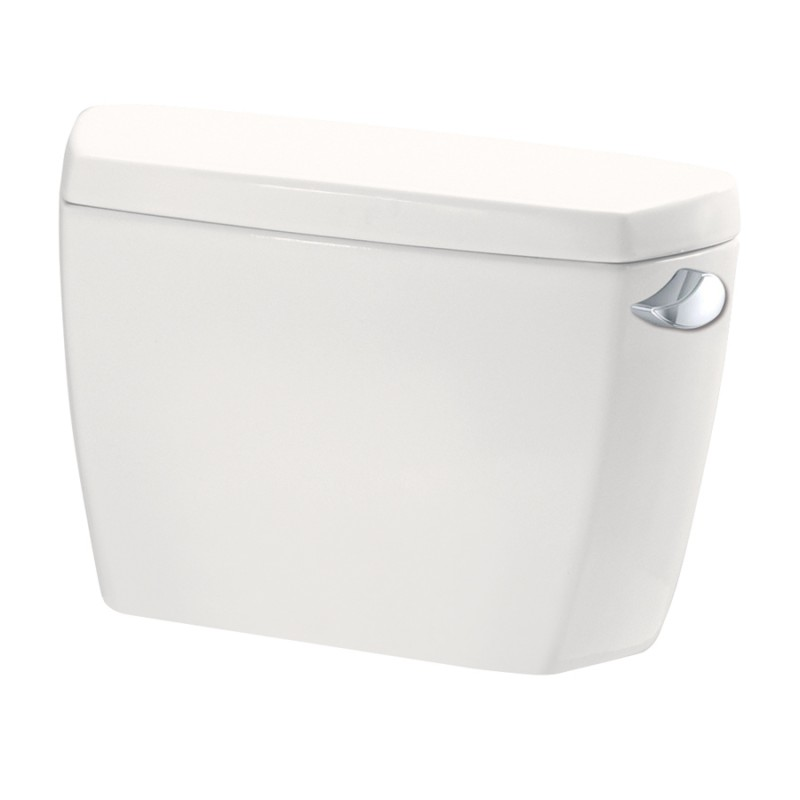 Toto Drake Toilet With Bolt Down Lid And Right Hand Trip Lever