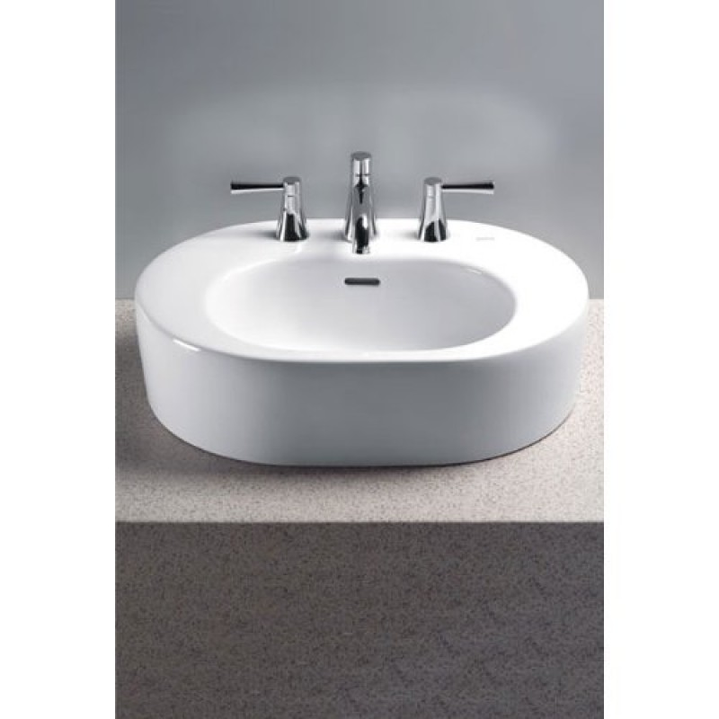 Buy Toto Nexus 24-In Vessel Sink With 4-In Faucet Centers Online ...