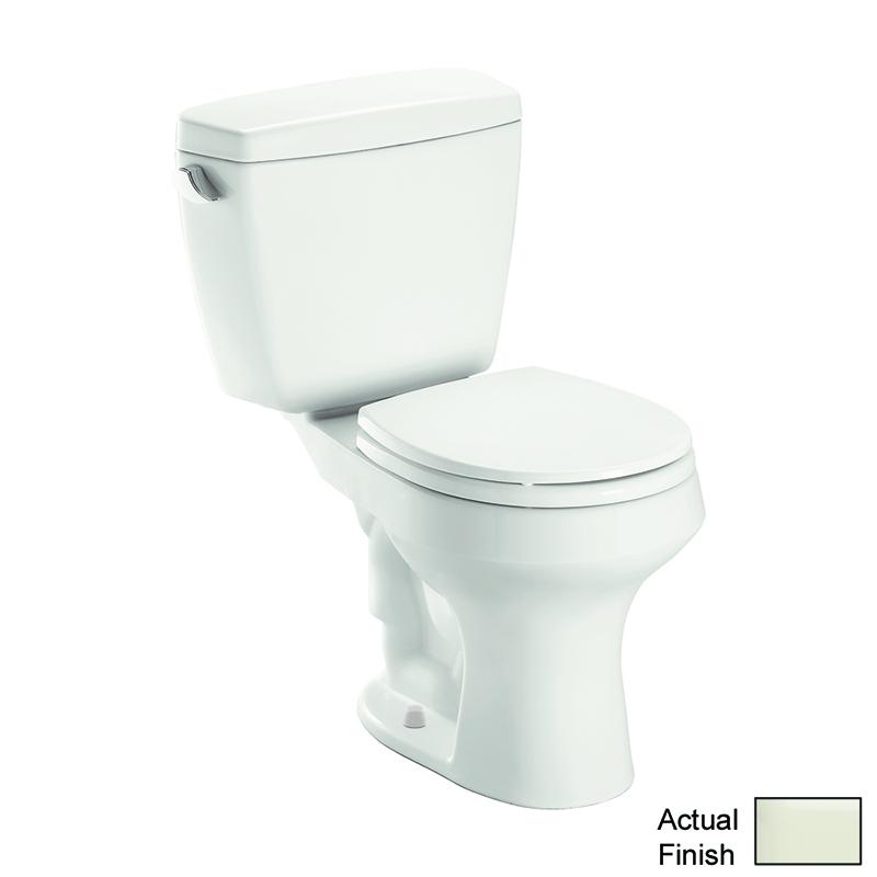 Toto Rowan 1.6 GPF 2-Piece Round Toilet