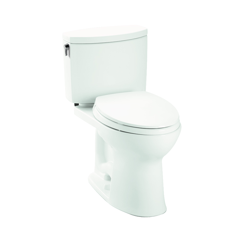 Toto Drake II 1 GPF 2-Piece Elongated Toilet