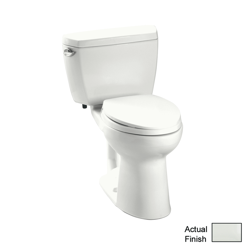 Toto Eco Drake 1.28 GPF 2-Piece Elongated Toilet