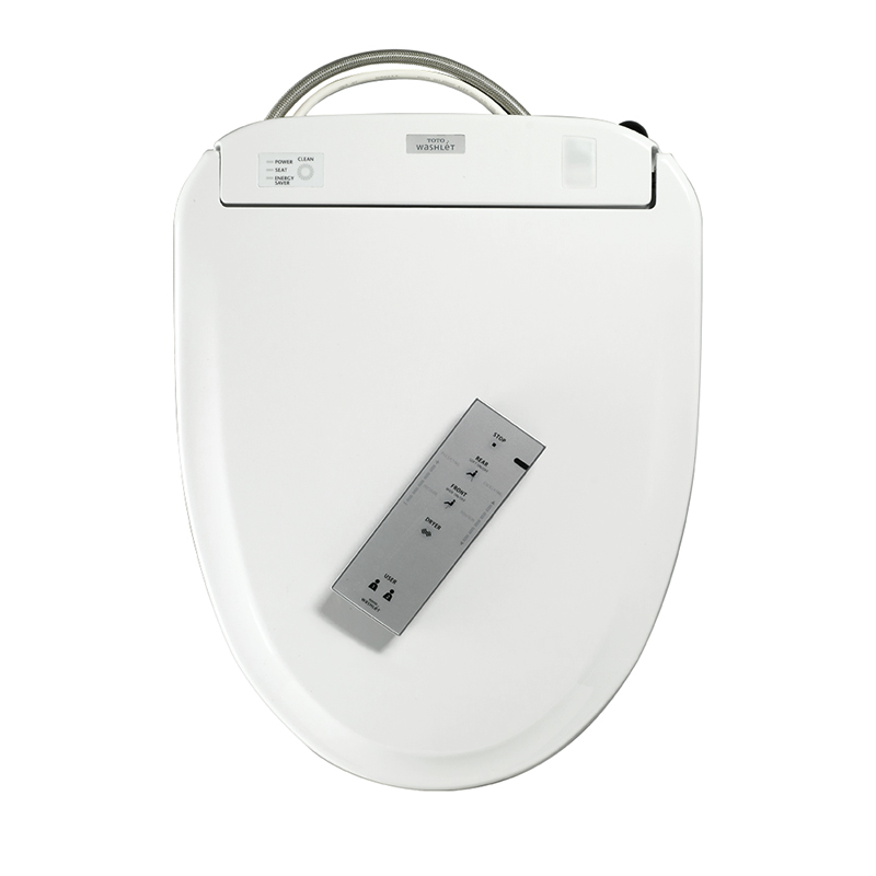 Toto S3E Plastic Round Closed Front Toilet Seat With Lid And Washlet