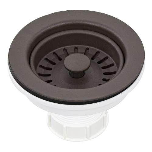 Transolid 3.5-in Plastic Strainer in Espresso