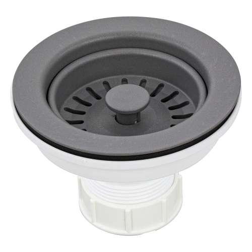 Transolid 3.5-in Plastic Strainer in Grey