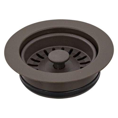 Transolid 3.5-in Plastic Disposal Strainer in Espresso