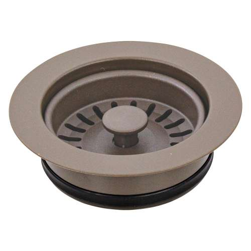 Transolid 3.5-in Plastic Disposal Strainer in Truffle