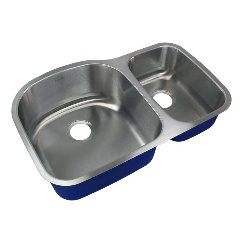 Transolid Meridian Stainless Steel 32-in Undermount Kitchen Sink