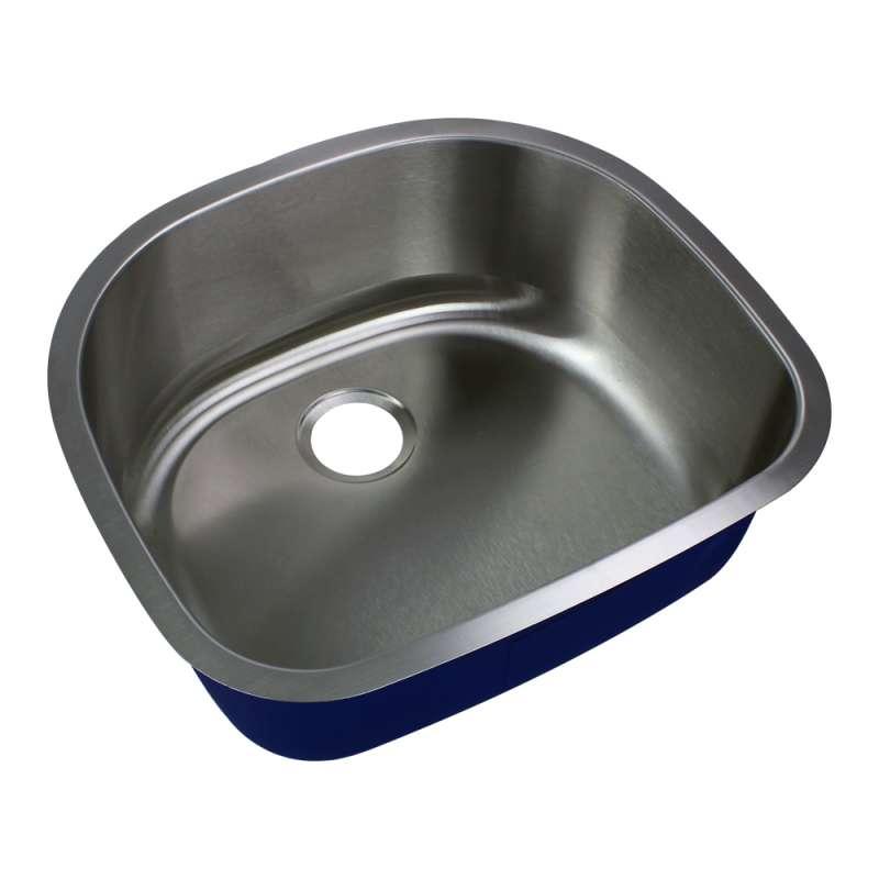 Transolid Meridian Stainless Steel 24-in Undermount Kitchen Sink