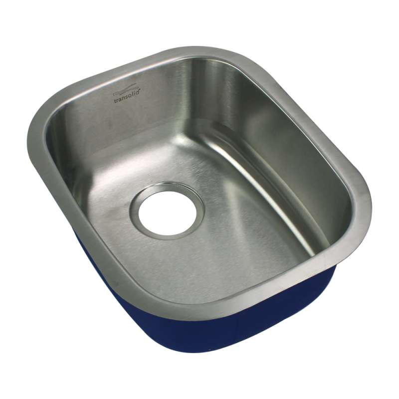 Transolid Meridian Stainless Steel 19-in Undermount Kitchen Sink