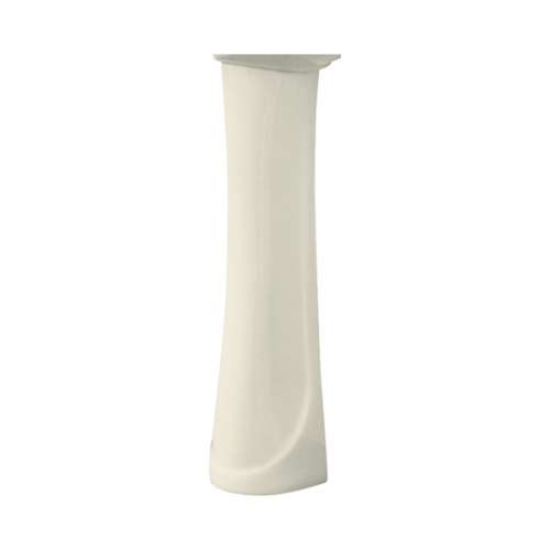 Transolid Madison Grande Vitreous China Pedestal Leg for use with TL-1414 Lavatory Sink, in Biscuit